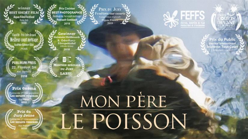 MON PÈRE LE POISSON (15 minutes, couleur, DCP 2K Scope) – 2017